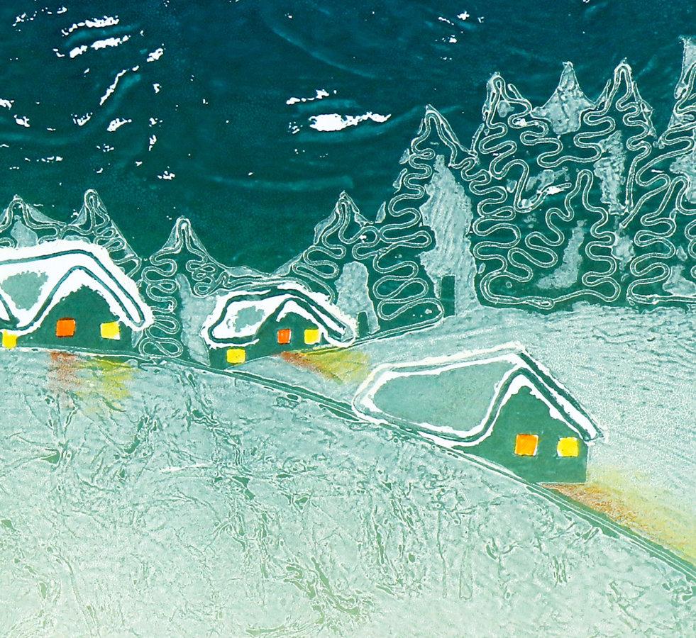 Ziemas grāmatiņu komplekts SNIEGA TORTE (ar kasti)