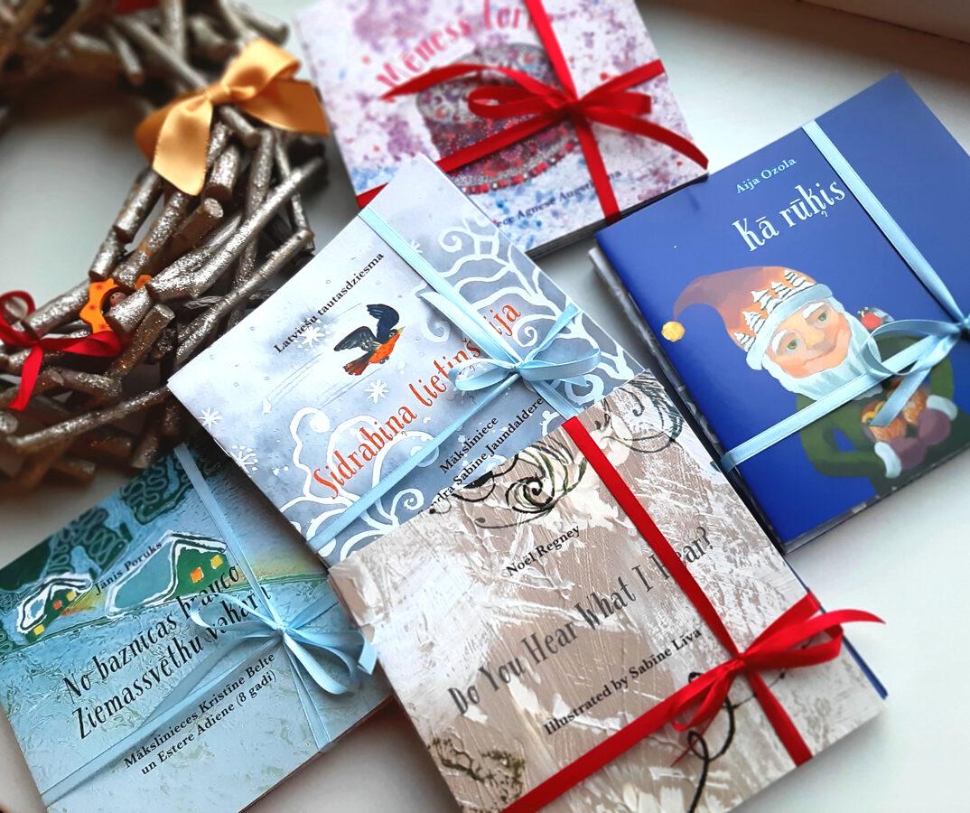 Ziemas grāmatu komplekts SNIEGA TORTE (ar lenti)