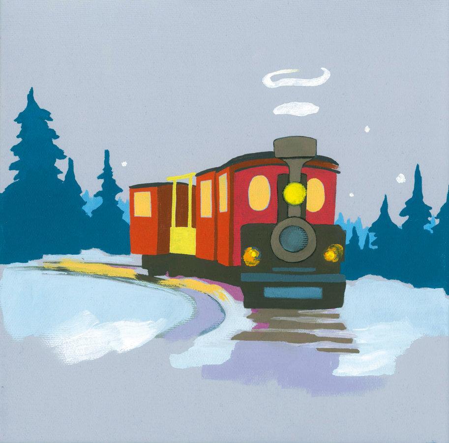 Ziemassvētku vilcieniņš